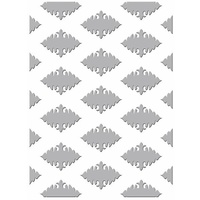 Couture Creations Embossing Folder 5x7 Gift Wrapping Ornate Diamonds