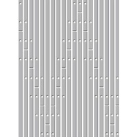 Couture Creations Embossing Folder 5x7 World Fair Fretboard