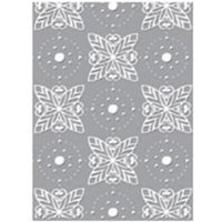 Couture Creations Embossing Folder 5x7 Art Nouveau Radiant