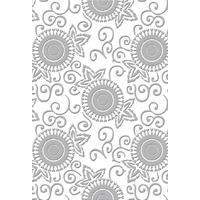 Couture Creations Embossing Folder 5x7 Serenity Chiaro