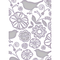 Couture Creations Embossing Folder 5x7 All Occasions Paradise