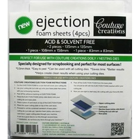 Couture Creations Ejection Foam Sheets (4pcs)