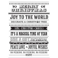 Couture Creations Embossing Folder 5x7 Wrapped in Joy A Magical Time
