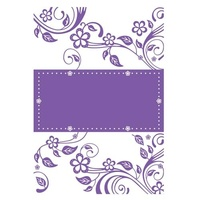 Couture Creations Embossing Folder A4 Bigger is Better Leaves