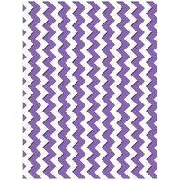 Couture Creations Embossing Folder A2 Harmony Collection Chevrons