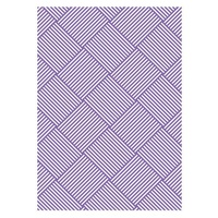 Couture Creations Embossing Folder A2 Ambassador Collection Woven
