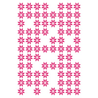 Couture Creations Embossing Folder 5x7 Random Daisies