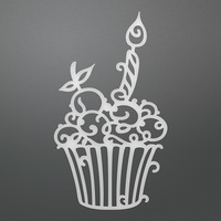 Couture Creations Dies Birthday Cupcake CO724511