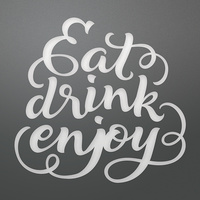 Couture Creations Dies Eat Drink Enjoy