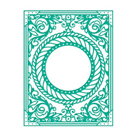 Couture Creations Embossing Folder A2 Framing the Breeze
