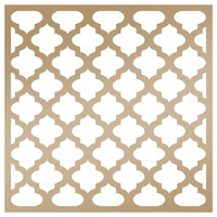 Couture Creations - Anna Griffin Stencil 8x8 Quatrefoil FREE SHIPPING
