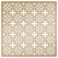 Couture Creations - Anna Griffin Stencil 8x8 Daisy Batik FREE SHIPPING