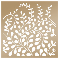 Couture Creations Anna Griffin Stencil 8x8 Creeping Vines