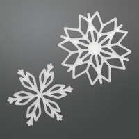 Couture Creations Dies Be Merry Layering Snowflakes Set