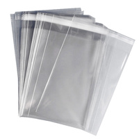 Presentation Clear Self Sealing Bags 5x7 inch 50Pkg