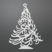 Couture Creations Die Holly Tree Decorative Die