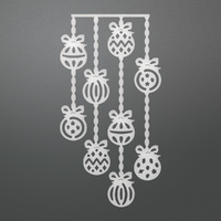 Couture Creations Die Dangling Baubles Decorative Die