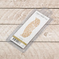 Couture Creations Hotfoil Stamp Rosey Border