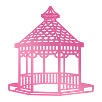 Couture Creations Hotfoil Stamp Gazebo