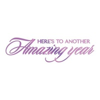 Couture Creations Hotfoil Amazing Year Sentiment