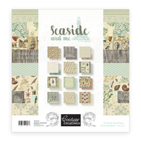 12x12 Couture Creations Paper Pad Seaside and Me