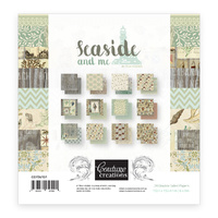 6x6 Couture Creations Seaside and Me Paper Pad