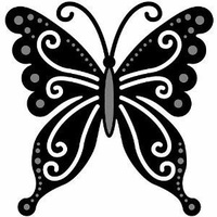Marianne Design Craftables Dies Butterfly CR1205