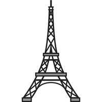 Marianne Design Craftables Dies Eiffel Tower CR1220