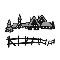 Marianne Design Craftables Dies Tiny's Winter Village CR1288