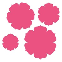Craft Concept Dies Nested Florals - Carnations