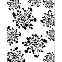 CRAFT CONCEPTS Embossing Folder Blooming Season 4.25 x 5.25
