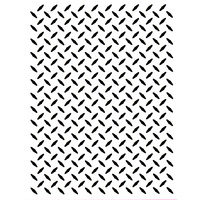 CRAFT CONCEPTS Embossing Folder Checker Plate 4.25 x 5.5
