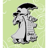 Stampendous Cling Rubber Stamps Rain Dance