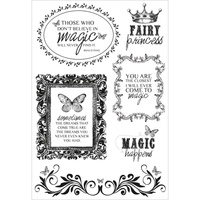 KaiserCraft Clear Stamps - Enchanted Garden Collection CS107 FREE SHIPPING