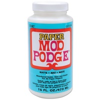 Mod Podge Paper Matte 473ml Acid Free