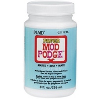 Mod Podge Paper Matte 236ml Acid Free