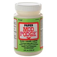 Mod Podge Paper Gloss 236ml Acid Free