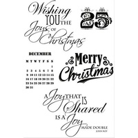 KaiserCraft Clear Stamps - St Nicholas CS114 FREE SHIPPING
