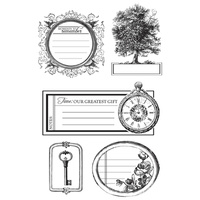 KaiserCraft Clear Stamps - Heirloom CS174 FREE SHIPPING
