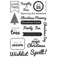 KaiserCraft Clear Stamps - Modern Christmas CS192 FREE SHIPPING