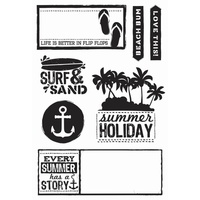 KaiserCraft Clear Stamps - Sandy Toes CS200 FREE SHIPPING