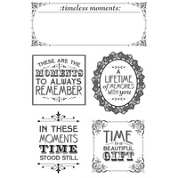 KaiserCraft Clear Stamps - Betsy's Couture CS204 FREE SHIPPING