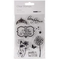 KaiserCraft Clear Stamps - Fairy Dust CS242 FREE SHIPPING