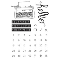 KaiserCraft Clear Stamps - My Year, My Story CS245 FREE SHIPPING