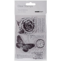 KaiserCraft Clear Stamps Treasured Moments CS246