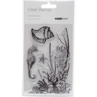KaiserCraft Clear Stamps Coastal Escape CS250