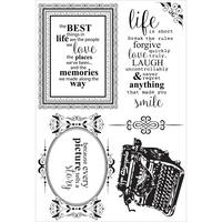 KaiserCraft Clear Stamps - Story Book CS252 FREE SHIPPING