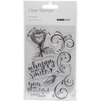KaiserCraft Clear Stamps - Sea Breeze CS253 FREE SHIPPING