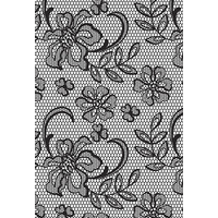 KaiserCraft Clear Stamps Background Floral Lace CS259