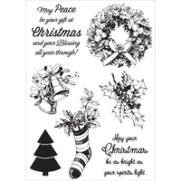 KaiserCraft Clear Stamps Silent Night CS271